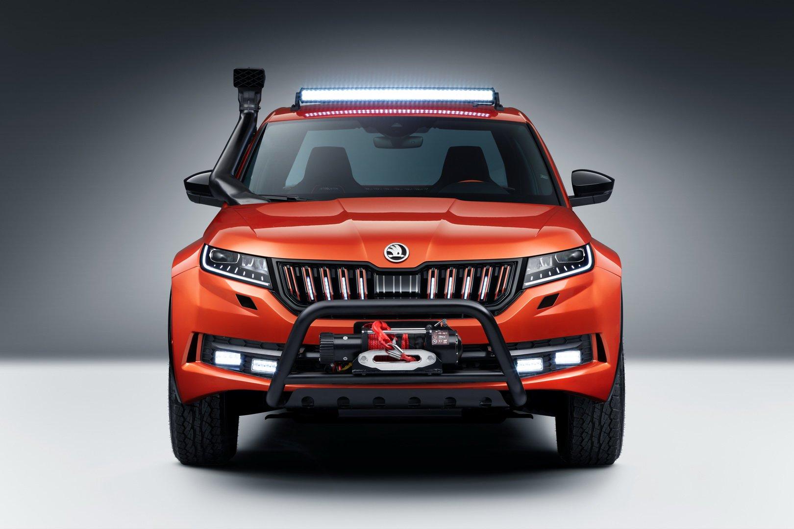 Skoda Mountiaq rival Dacia Duster pick-up (9)