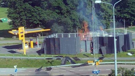Explozie la o stație de încărcare cu hidrogen