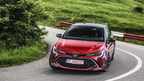Test drive Toyota Corolla – Rețeta de sushi