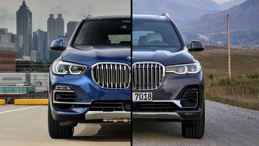 BMW X5 și BMW X7