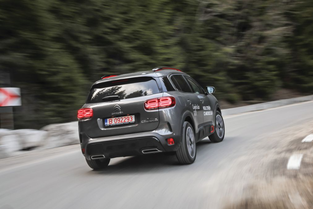 test Citroen C5 Aircross 1.6 PureTech 180 EAT8 2019