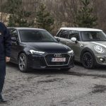 test comparativ Mini Cooper vs Audi A1 2019