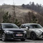 Test comparativ MINI Cooper vs Audi A1