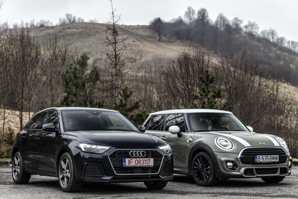 test comparativ Mini Cooper vs Audi A1 2019 (35)