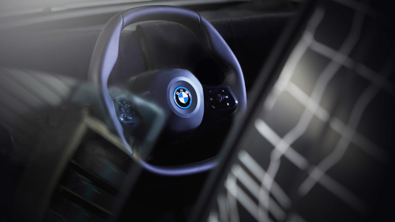 BMW iNext volan