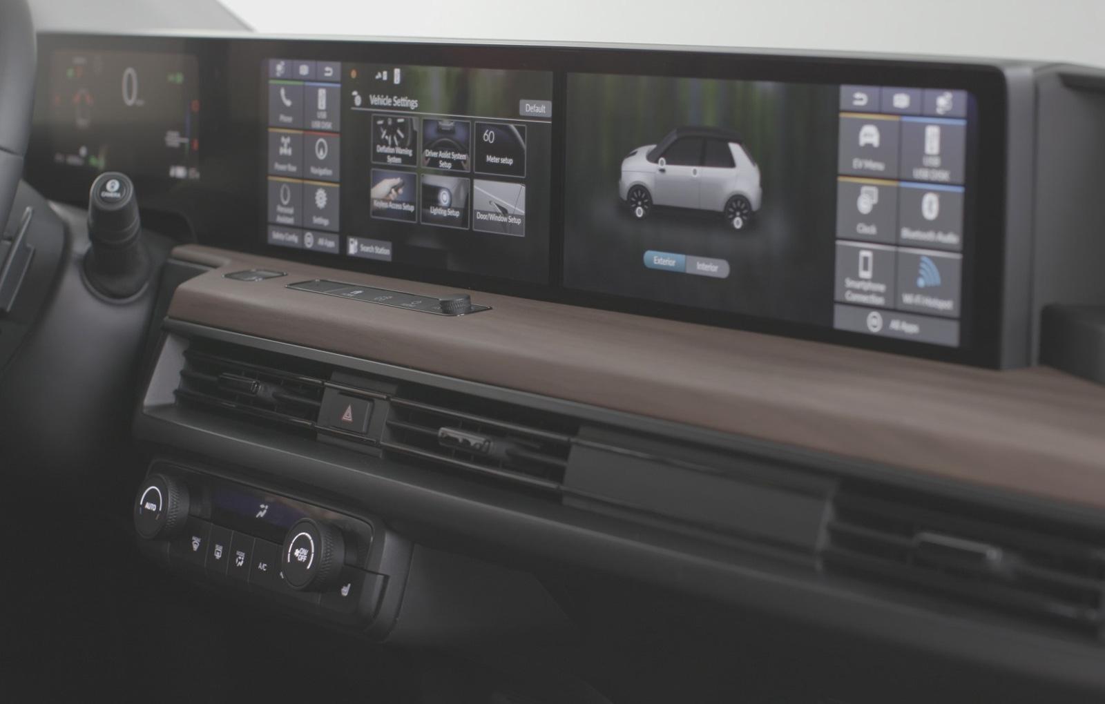 Honda e interior (1)