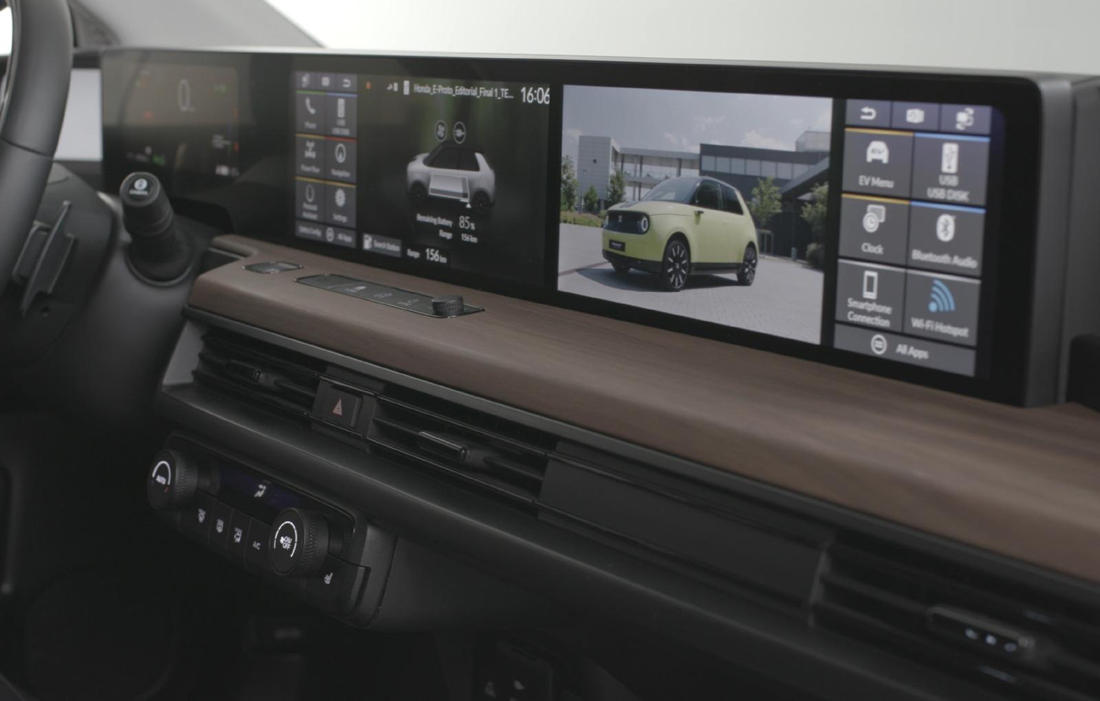 Honda e interior (3)