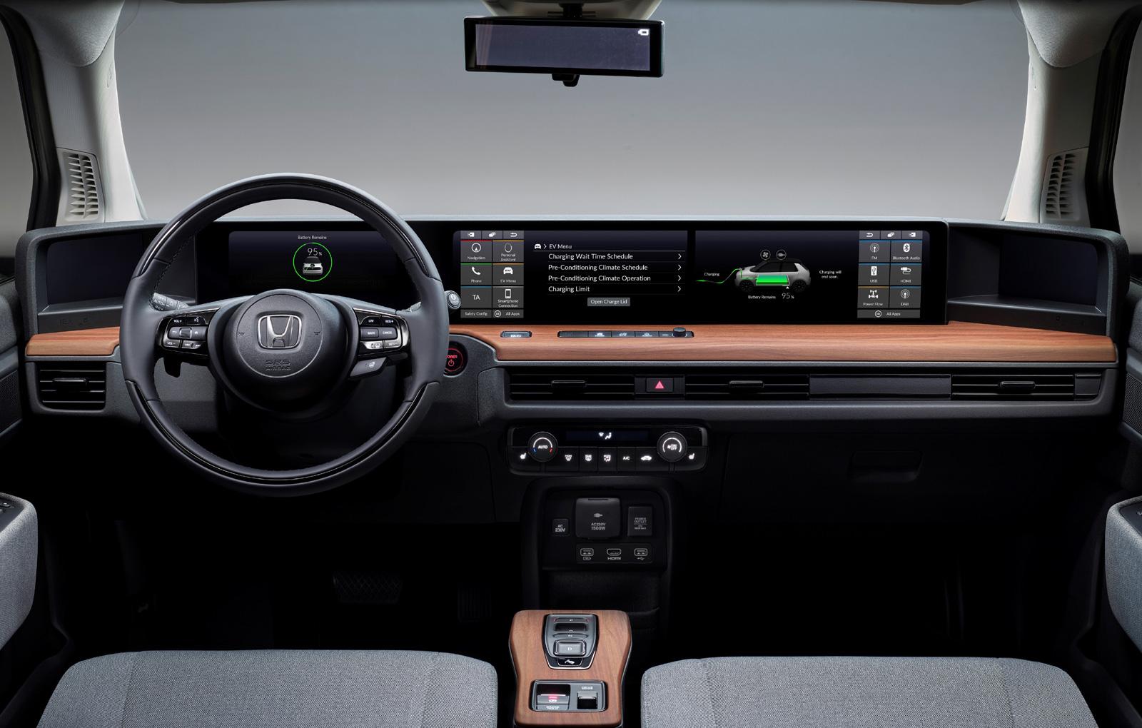 Honda e interior (6)