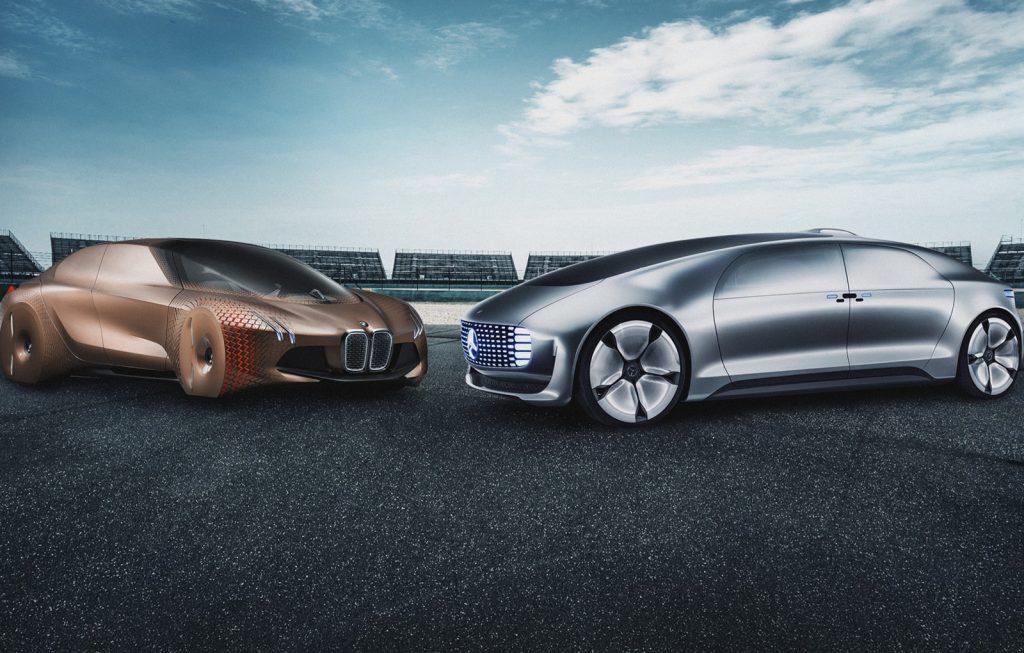 Mercedes-Benz si BMW