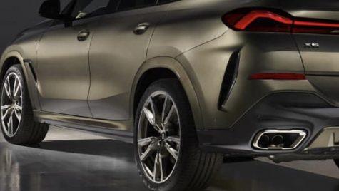 Noul BMW X6 a ajuns din greșeală pe internet. Cum arată SUV-ul coupe?