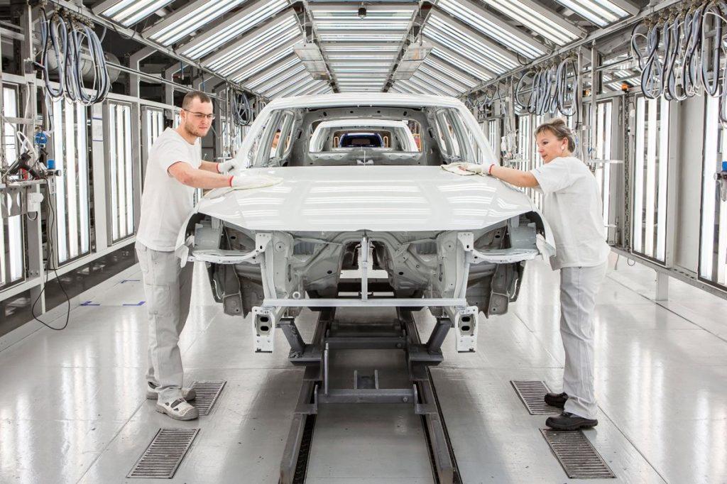 uzină Volkswagen Skoda