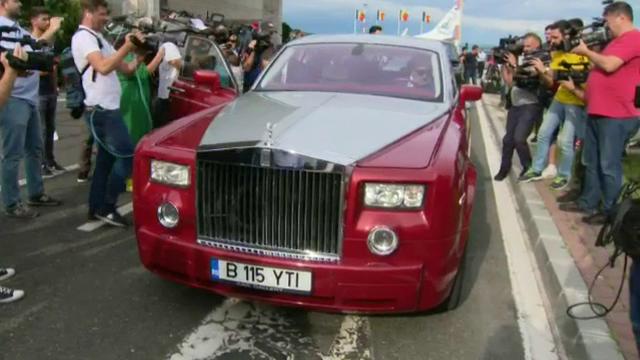 Simona Halep Rolls-Royce (1)