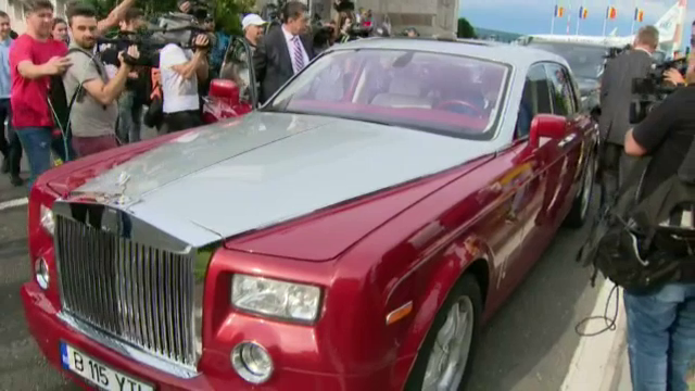 Simona Halep Rolls-Royce (2)