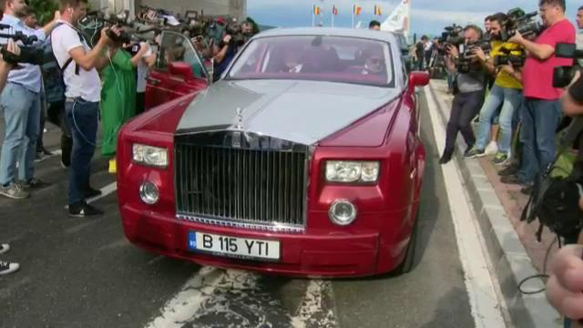 Simona Halep Rolls-Royce (4)
