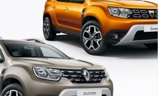 Dacia Duster si Renault Duster