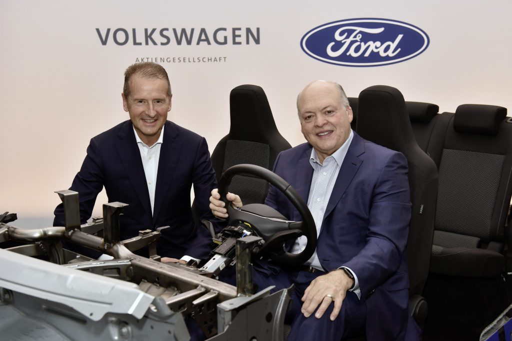 Ford – Volkswagen expand their global collaboration to advance