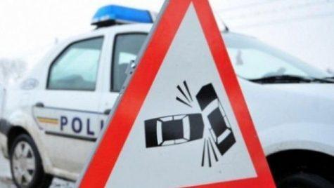 Grav accident rutier la Sinaia: Traficul spre Bucureşti este foarte îngreunat