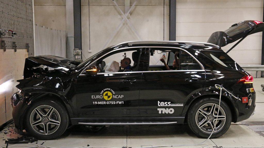 Mercedes-Benz GLE Euro NCAP