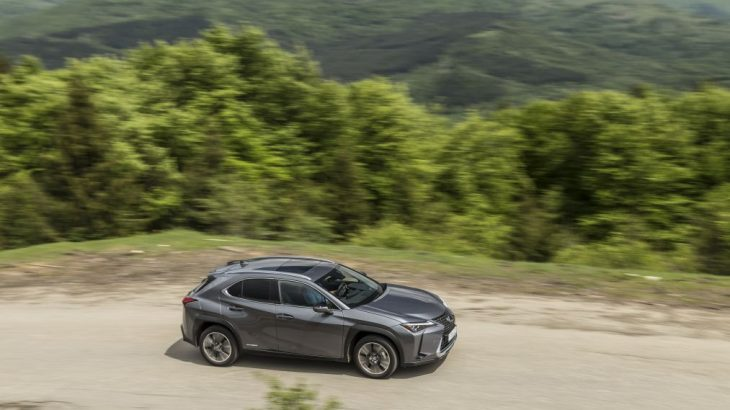 Test Lexus UX 250h E-Four