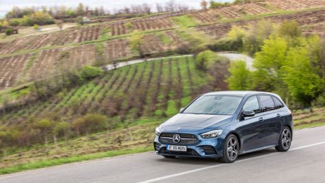 Test Mercedes-Benz B 200 d 8G-DCT