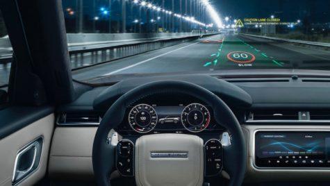 Cum va arăta viitorul display 3D de la Jaguar Land Rover?