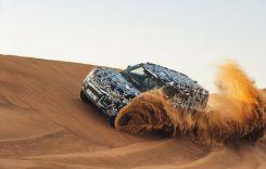 Detalii noi despre viitorul Land Rover Defender. GALERIE FOTO din deșert