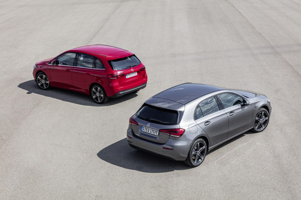 Mercedes-Benz A-Class and B-Class plug-in hybrid (2)