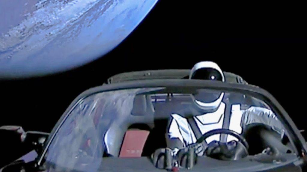 Tesla Roadster Elon Musk 2