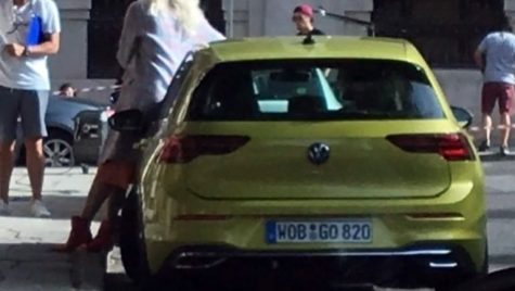 Volkswagen Golf VIII – Prima imagine oficială