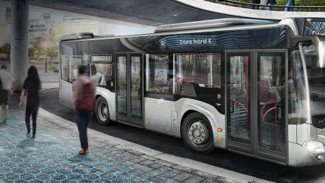 Vom merge cu autobuze hibride în București! Când vor ajunge pe străzi?