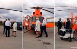 Dăncilă, vizită cu elicopterul în Moldova, singura regiune din țară fără autostradă