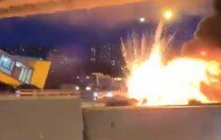 Tesla Model 3 a luat foc în urma unui accident. Mașina era pe Autopilot în momentul impactului!