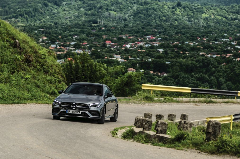 test Mercedes CLA 220 2019