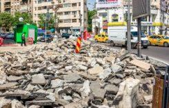 Trafic de coșmar în Capitală: Încep lucrări de amploare în Piața Unirii