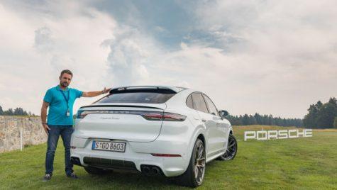 Porsche Cayenne Coupe, test drive în Slovenia