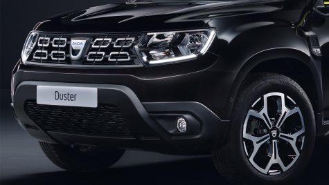 Dacia Duster Black Collector – Ediția specială interzisă românilor