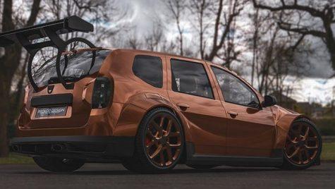 Dacia Duster tunată. Cum arată Duster care poate merge la curse?