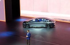 LIVE Frankfurt 2019 – Noul Mercedes-Benz Vision EQS