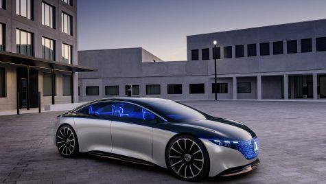 Mercedes-AMG EQS ar putea dezvolta 600 CP
