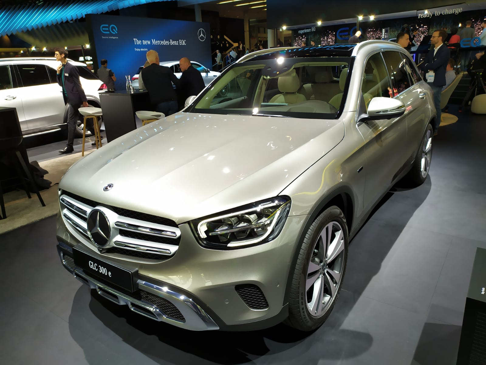 Mercedes-Benz GLC plug in hybrid
