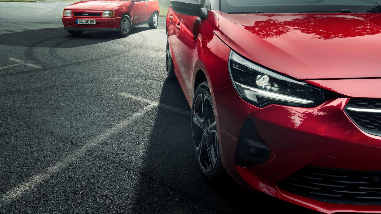 Opel Corsa GS Line vs Opel Corsa GSi (2)