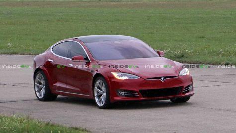 Record fals? O versiune specială Tesla Model S, mai rapidă ca Porsche Taycan