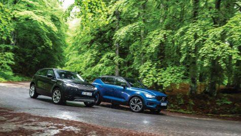 Test comparativ Volvo XC40 vs Range Rover Evoque