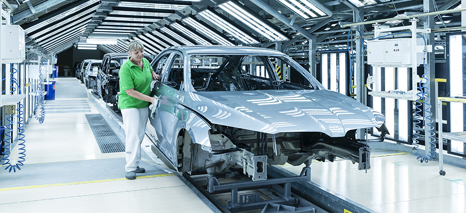 Volkswagen Skoda uzina