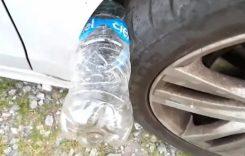 ALERTĂ: Ce se întâmplă dacă găsești o STICLĂ DE PLASTIC pusă la roata mașinii. Trebuie sa faci asta imediat! (VIDEO)