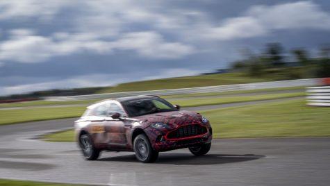 SUV-ul Aston Martin DBX va fi lansat în luna decembrie