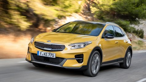 Test drive Kia XCeed 1.4 T-GDI