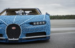 Un Bugatti Chiron realizat din piese Lego la scara 1:1 sosește în România