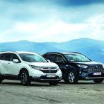 Test comparativ Honda CR-V Hybrid vs Toyota RAV4 Hybrid: care este mai eficient?