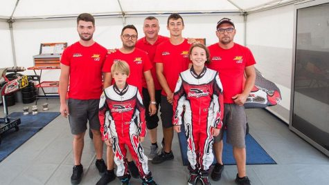 Kartingul, voința de antrenor și copiii talentați